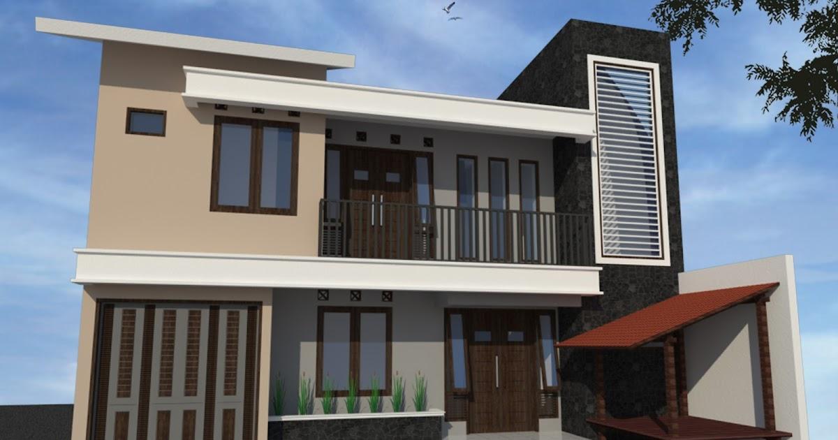 model rumah minimalis sederhana modern type 36 45 1 lantai