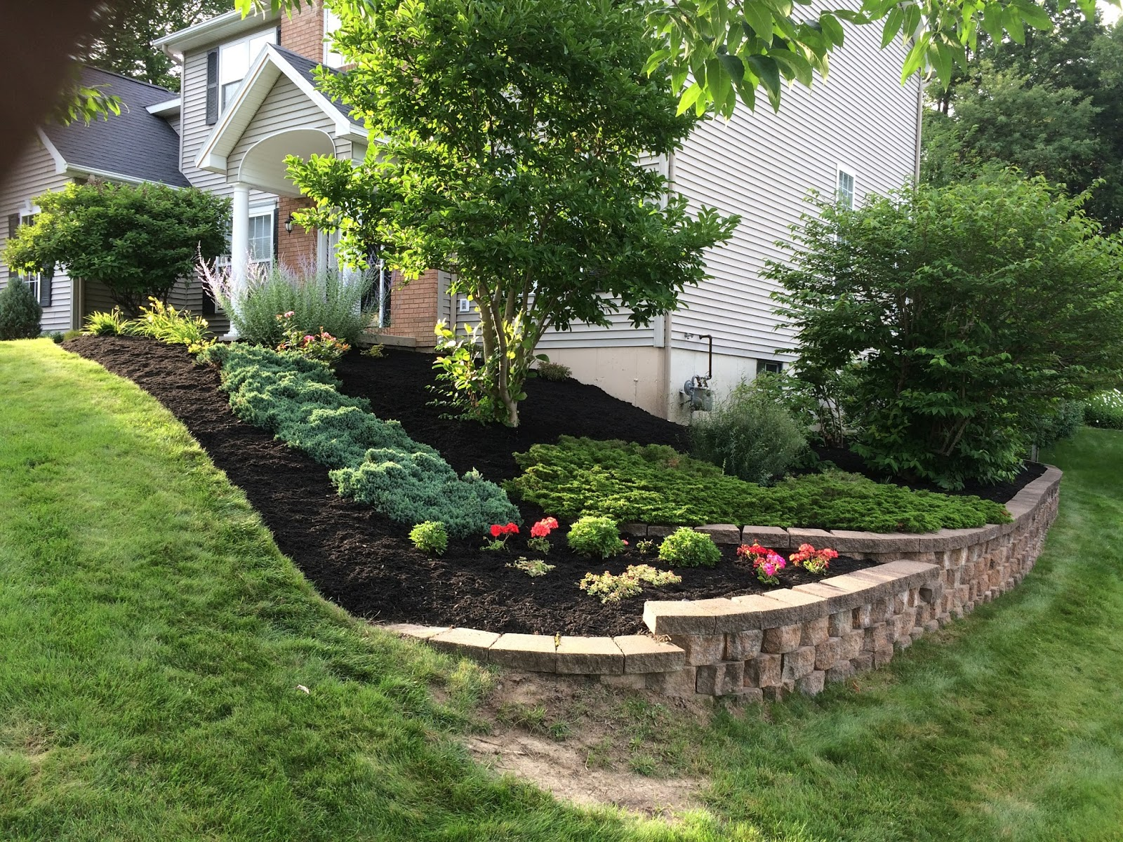 Bryk City Landscaping Mulch Spreading Amp Edging Capital