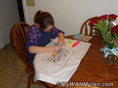 markers,pillowcase,fun,