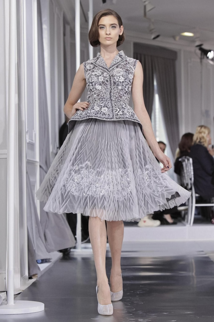 Fashion Runway Christian Dior Spring 2012 Couture By