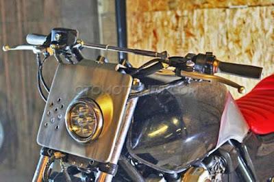 Modifikasi Honda CB400 Siap Touring