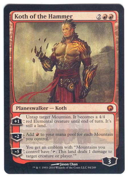 Magic the Gathering Adventures: Tutorial 5: Planeswalkers Planeswalker Points