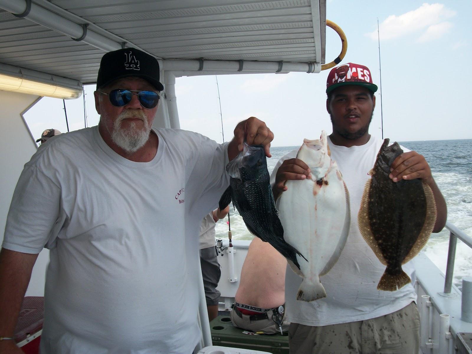 Capt cal belmar good day of fishing 8 19 12 for Belmar fishing charters