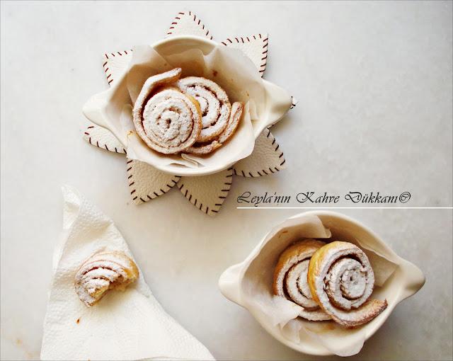 Tarçınlı Mini Çörek