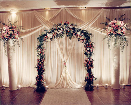 Flowers for flower lovers weddings flowers decoration ideas for Floral wedding decorations ideas