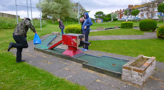 The Original Crazy Golf course on South Parade in Skegness