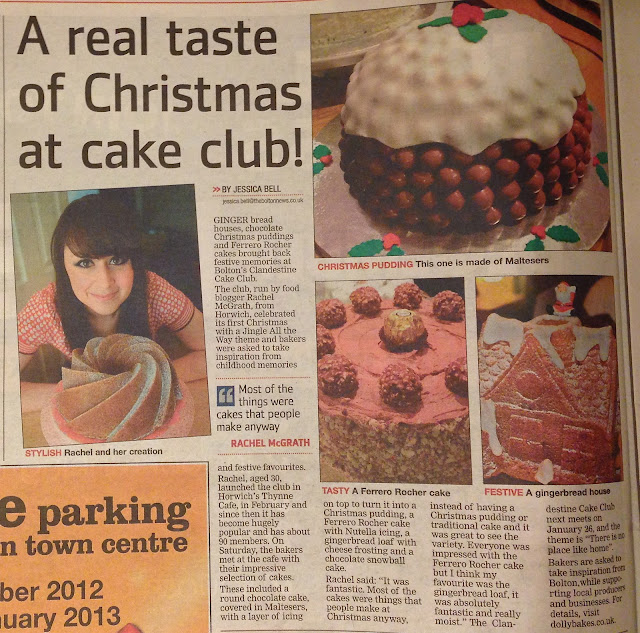 Clandestine Cake Club Bolton - Bolton News December 2012