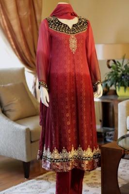 Pakistani Designer Salwar Kameez   Wedding Wear Salwar Suits