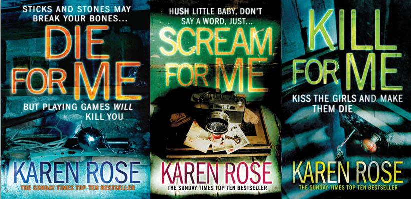 Vartanian Trilogy (Die For Me, Scream For Me, Kill For Me) - Karen Rose