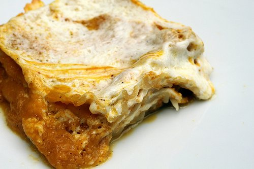Pumpkin Lasagna - Seriously amazing