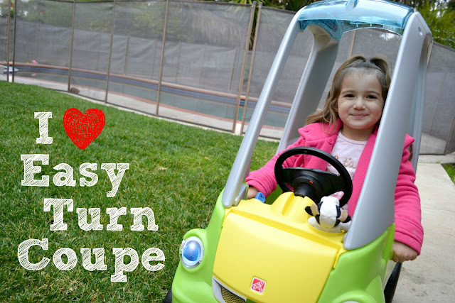 Step2 Easy Turn Coupe, Step2 Easy Turn Coupe Review, Step2 Easy Turn Coupe Giveaway, The Best Ride on Car for Kids, Step2 Easy Turn Caption This Contest, #EasyTurnCoupe #TestDriveBlogger