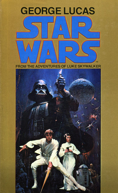 Star Wars Book Cover Art : Star wars aficionado website archive john berkey
