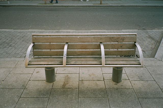London bench The Cut Waterloo