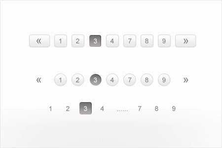 Stylish Pagination