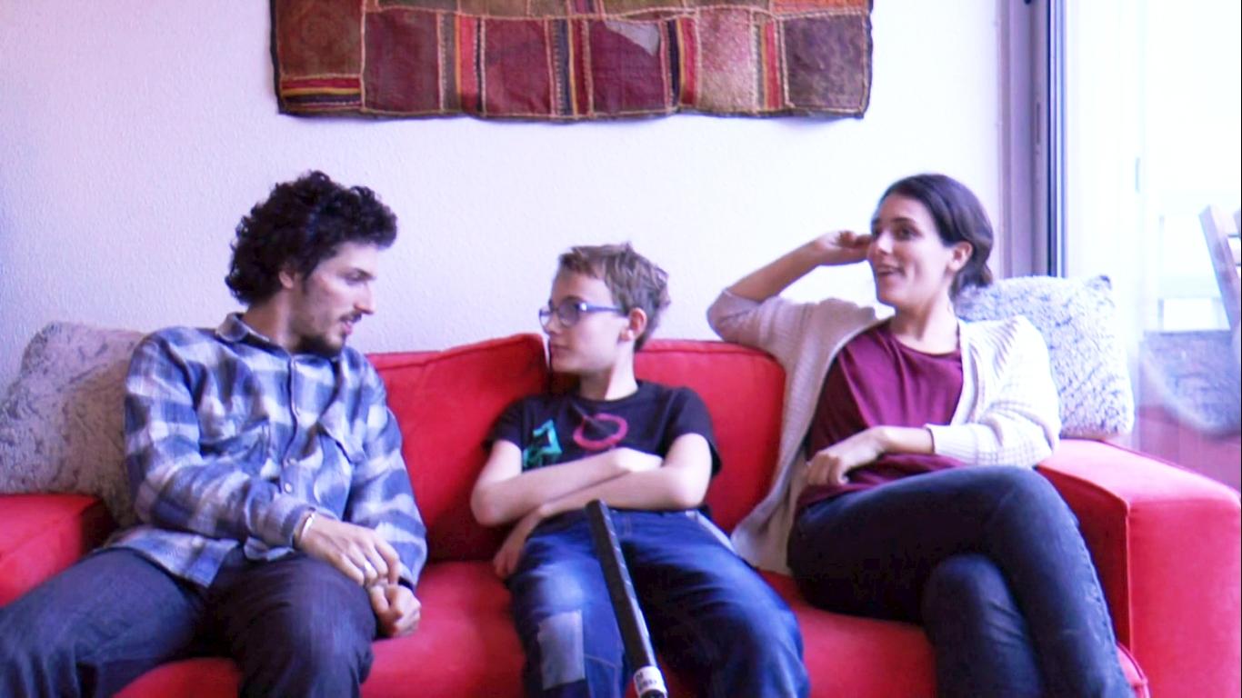 Théo, Fanny et Harold