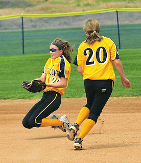 travel softball great catch
