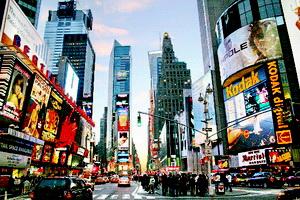 tempat wisata terkenal Times Square New York