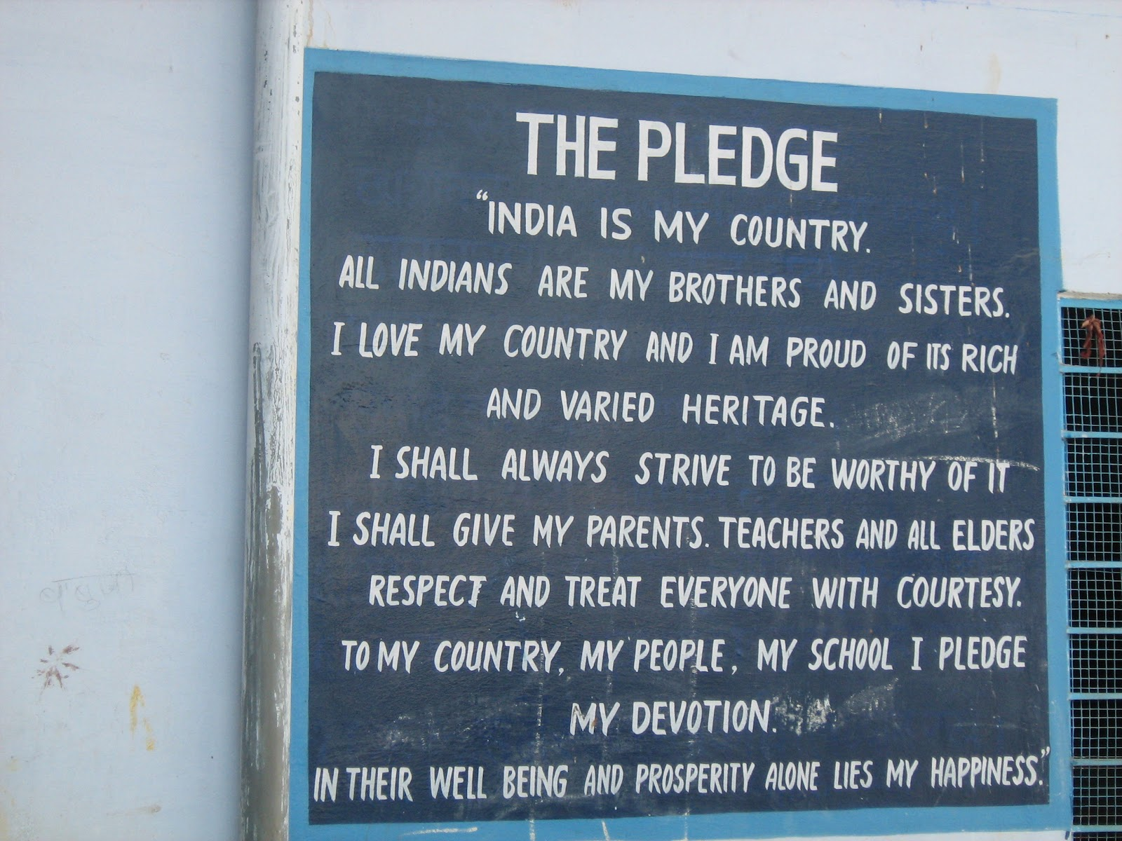 indian pledge in hindi pdf