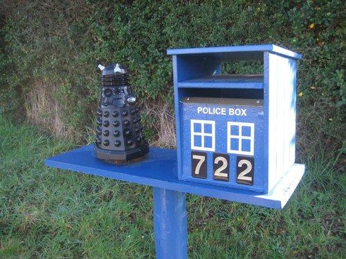 Tardis Mailbox