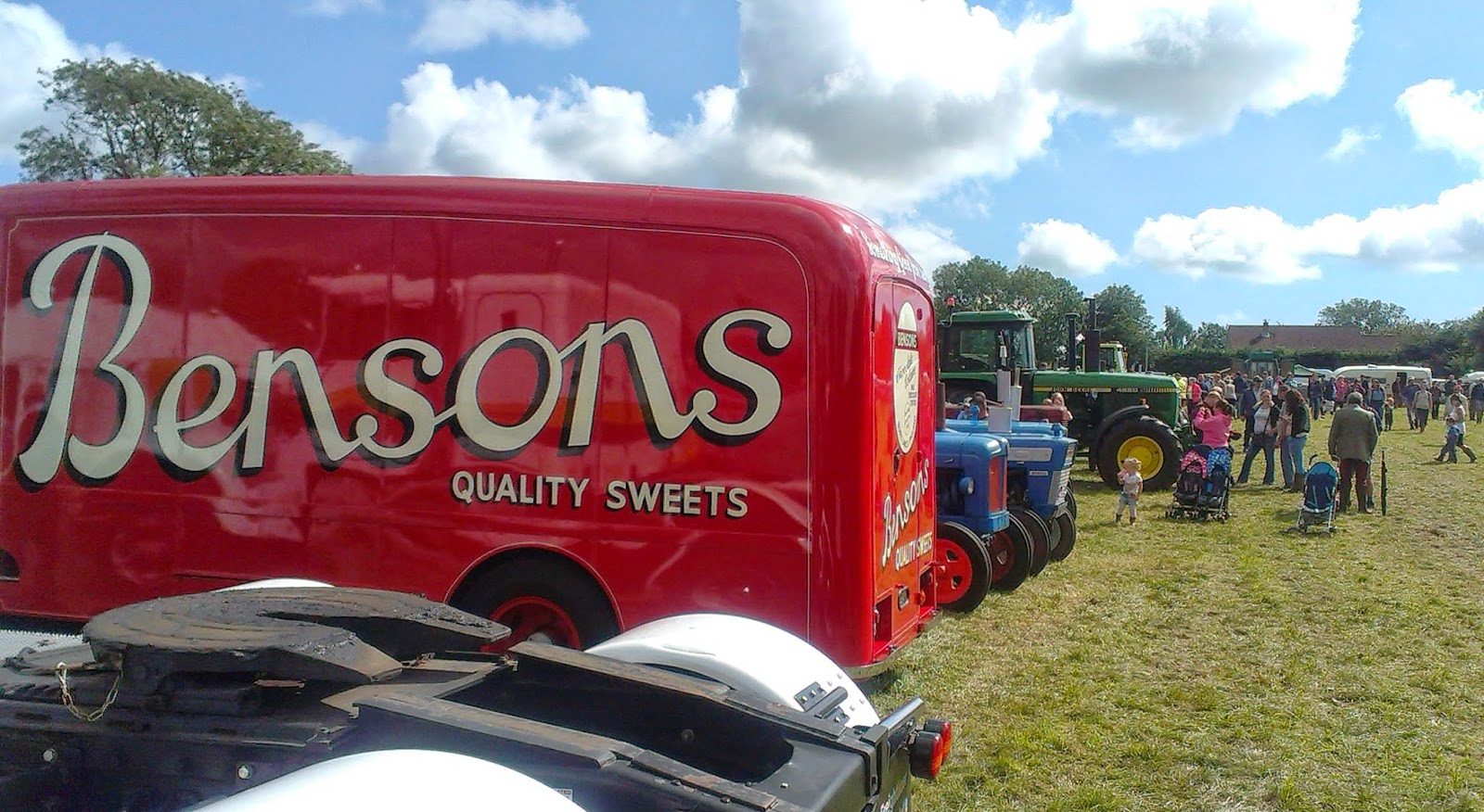 Mid Somerset Show Vintage Vehicle Field