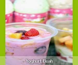 Resep dan Cara Membuat Yoghurt Buah