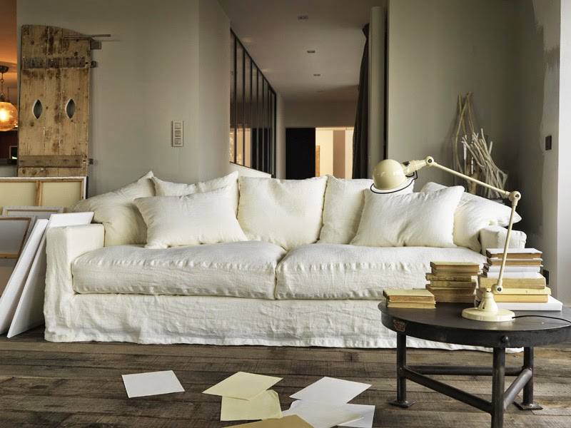m chant studio blog the white linen sofa i need. Black Bedroom Furniture Sets. Home Design Ideas