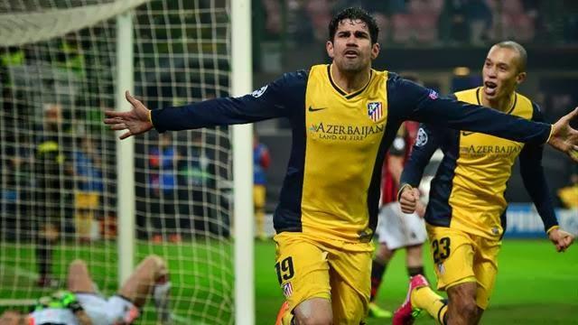 ميلان ضد اتلتيكو مدريد
