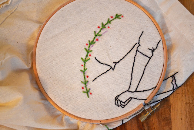 Freehand embroidery