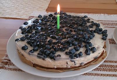 boruvkovy cheesecake