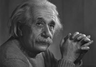 Einstein. Foto: Yousuf Karsh