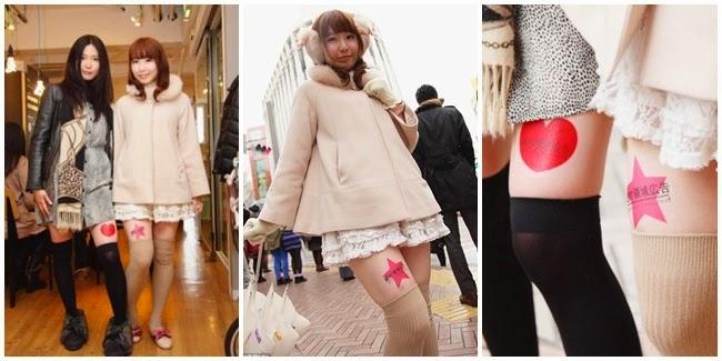 Trend Iklan di Paha Seksi Mahasiswi Jepang
