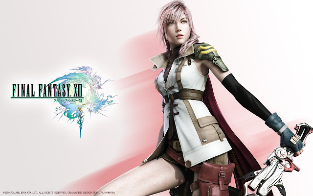 ffxiii ff13 final fantasy 13 lightning wallpaper background