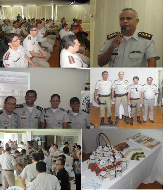 COMANDANTE DO CPRN RECEPCIONA A COMITIVA DO COGESP/2013