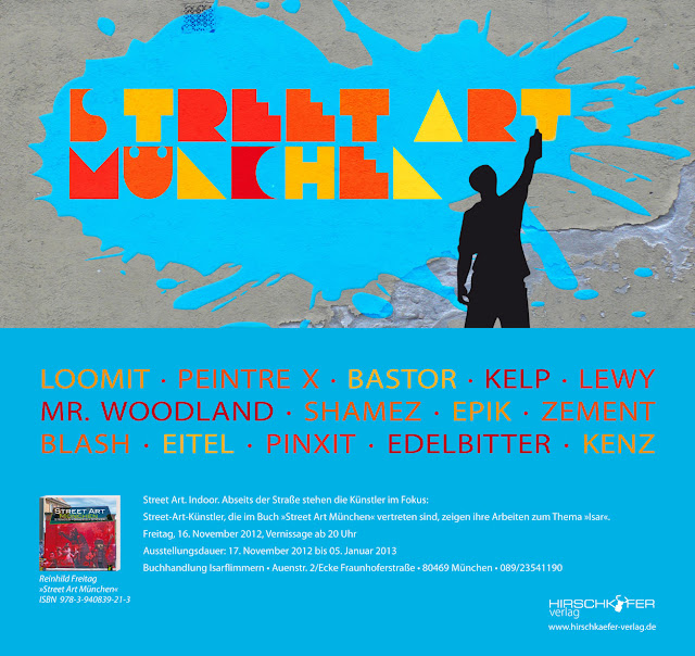 Loomit, Mr. Woodland, Kenz Streetart Graffiti