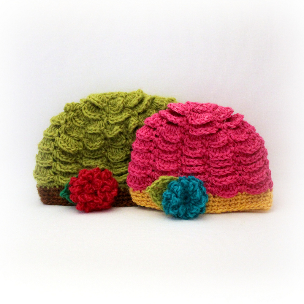 Crocheted Baby Hat Pattern - Crochet -- All About Crocheting