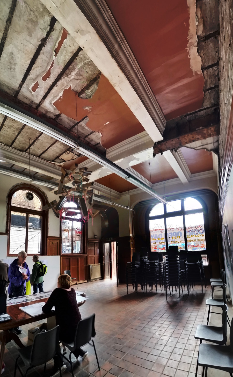 Civic Room, ( Former British Linen Bank ) , Doors Open Day 2015 , Glasgow