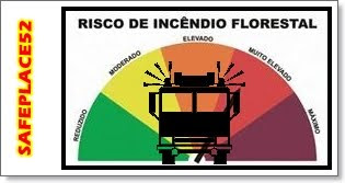RISCO DE INCNDIO FLORESTAL