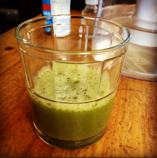 day 5 post double jaw (orthognathic) surgery green juice