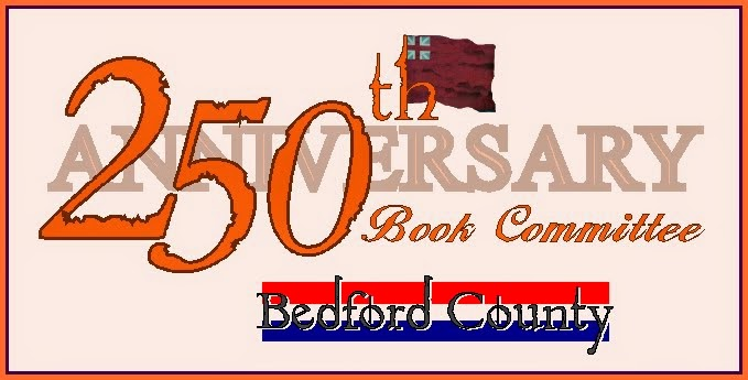 Bedford County 250th Anniversary Book