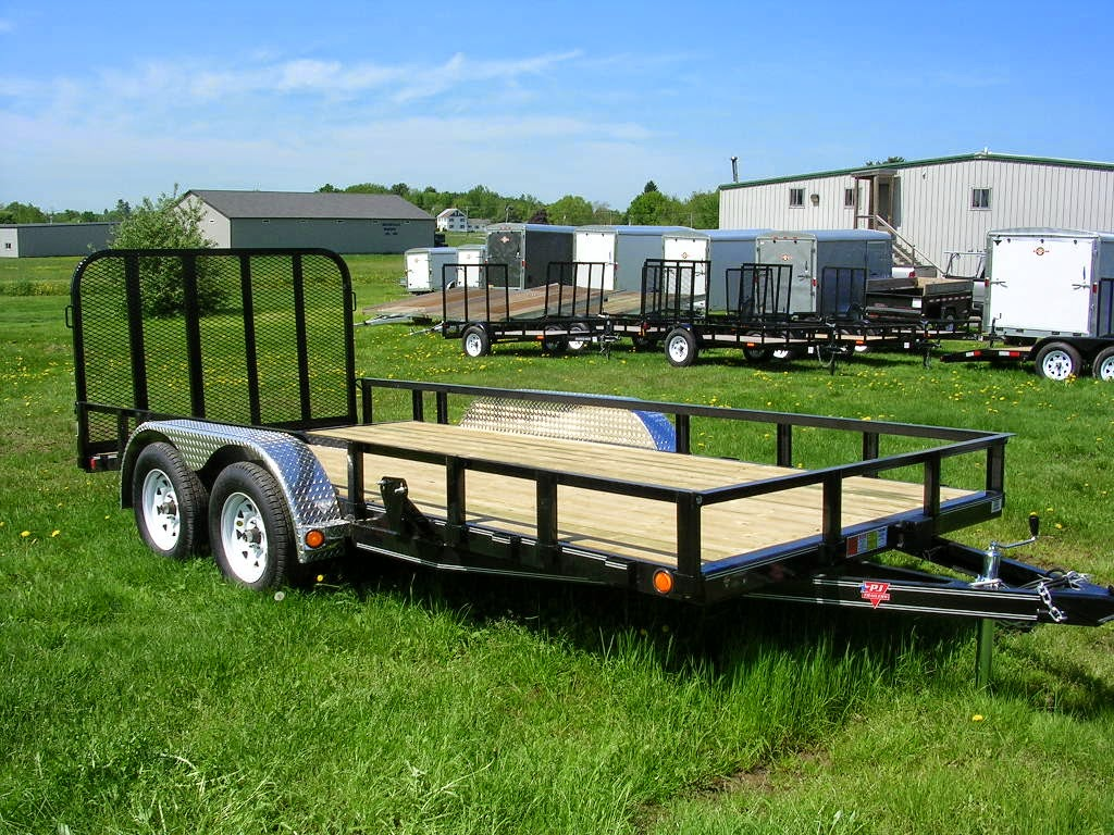 Michaud39s Trailers Winslow Maine P J Trailers Tandem Axle