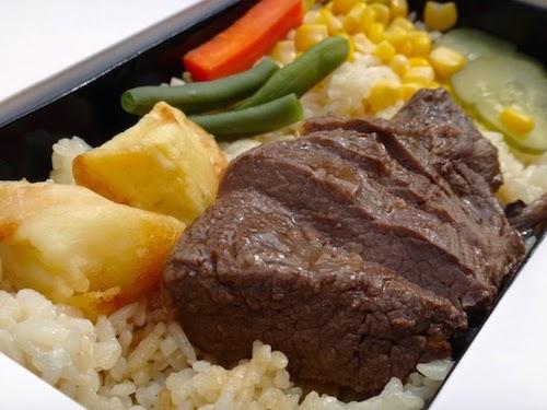 淡路屋、神戸のステーキ弁当