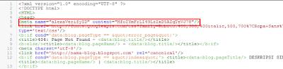 Cara Claim atau Verifikasi Blog di Situs Alexa Terbaru 2015