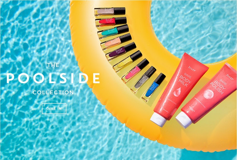 Pretty Nails and Tea | July 2014 | Julep | Poolside Collection