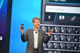 BlackBerry Z10 dan Q10