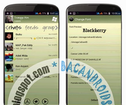 download BBM2 Mod WP Ganti Font Manual(Multi Pin)
