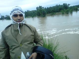 flood near roorkee