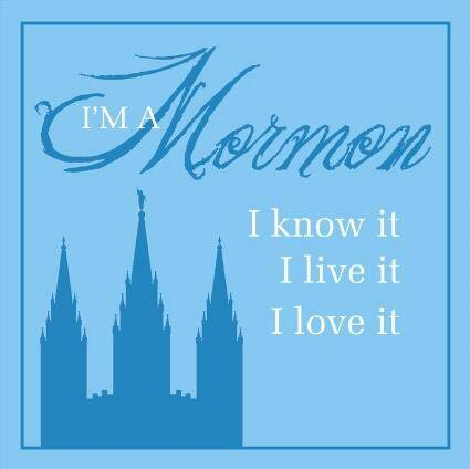 I belong to the Church of Jesus Christ of Latter-day Saints!