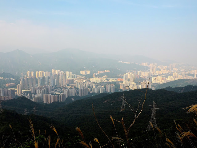 View of New Territories from Lion Rock Peak, Hong Kong