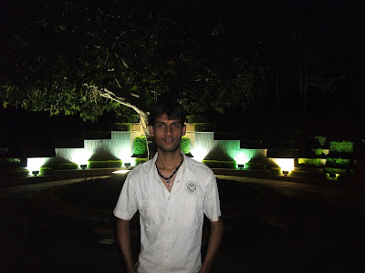 Anshu Dikshant at Shri Renukeshwar Mahadev (Birla) Mandir, Renukoot