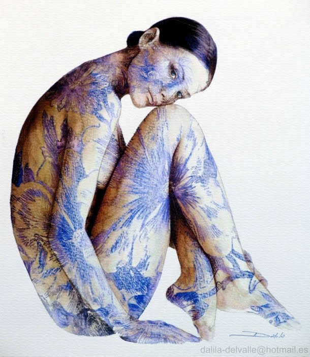 Dalila Del Valle | español hiperrealista pintor